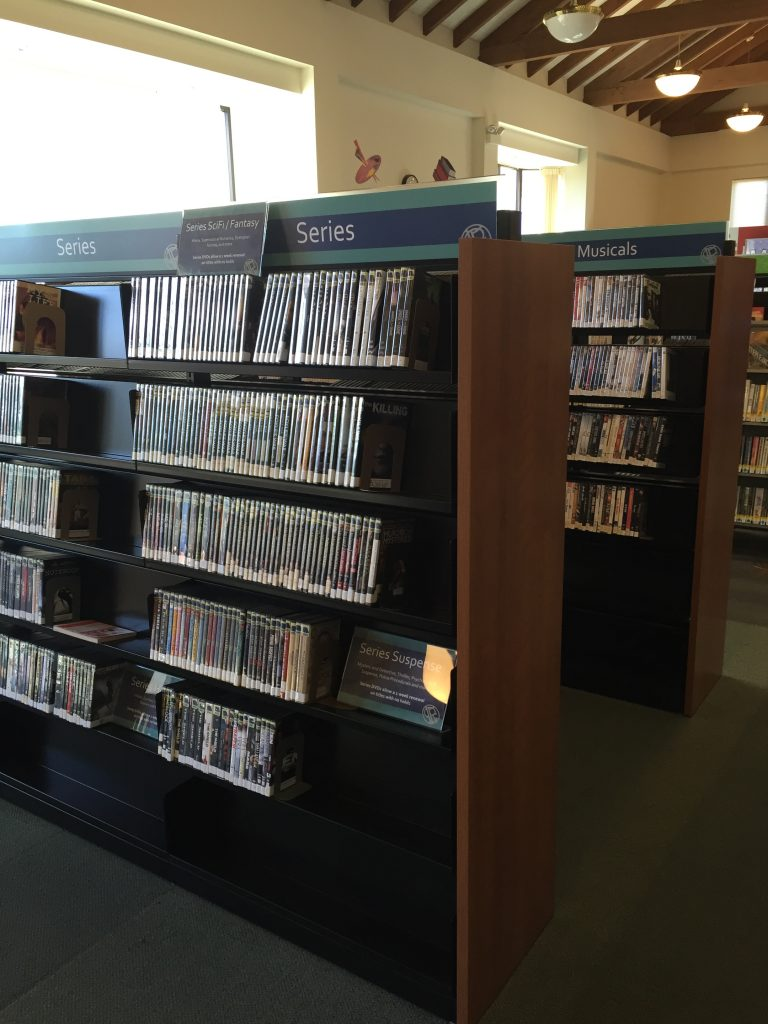 New DVD Shelving