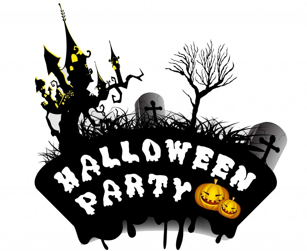 1/2 day halloween party