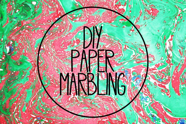 marbleize paper marbling