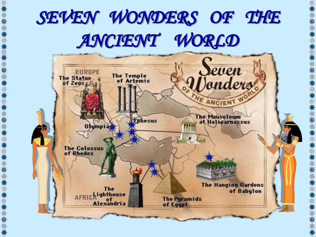 wonders of the ancient
