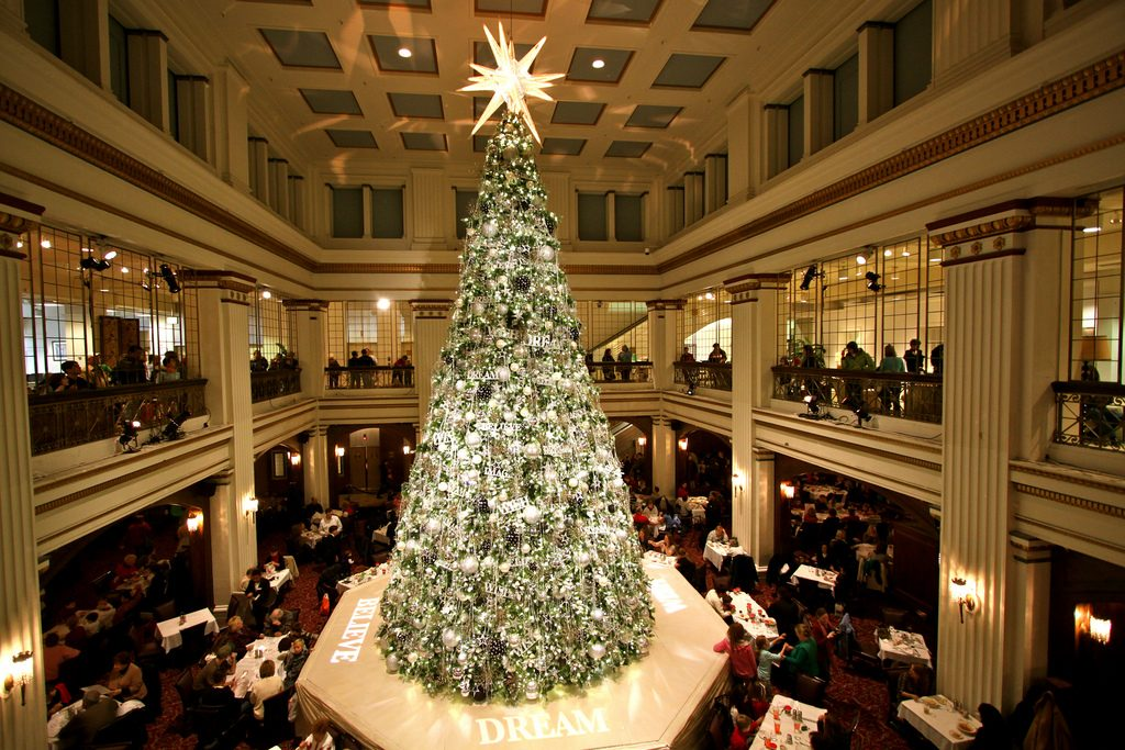 Christmas at Marshall Fields