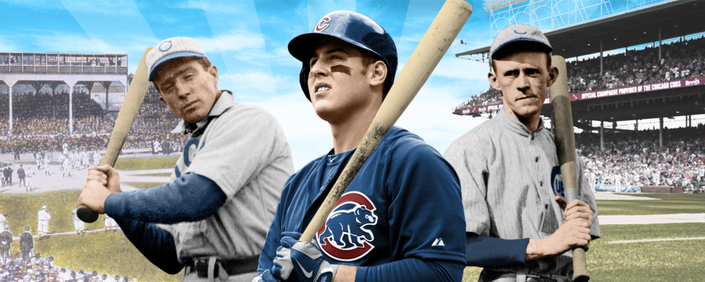 Chicago Cubs Then and Now